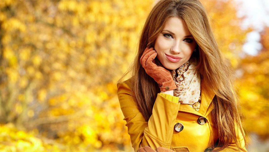 Забота о волосах осенью