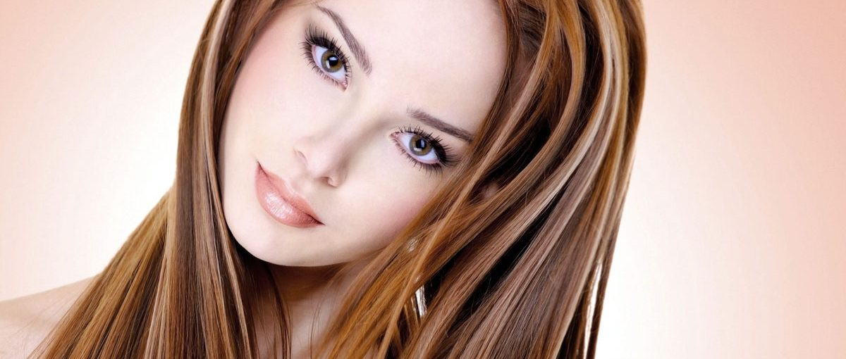 Профессиональное мелирование волос