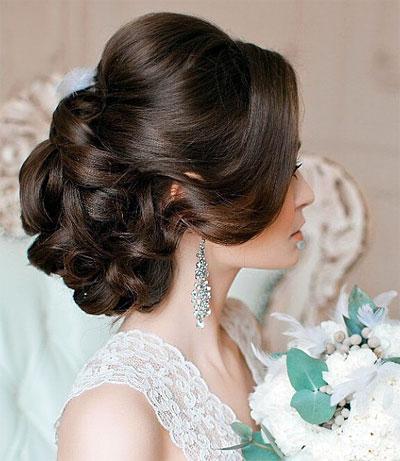 Свадебная причёска в Одинцово